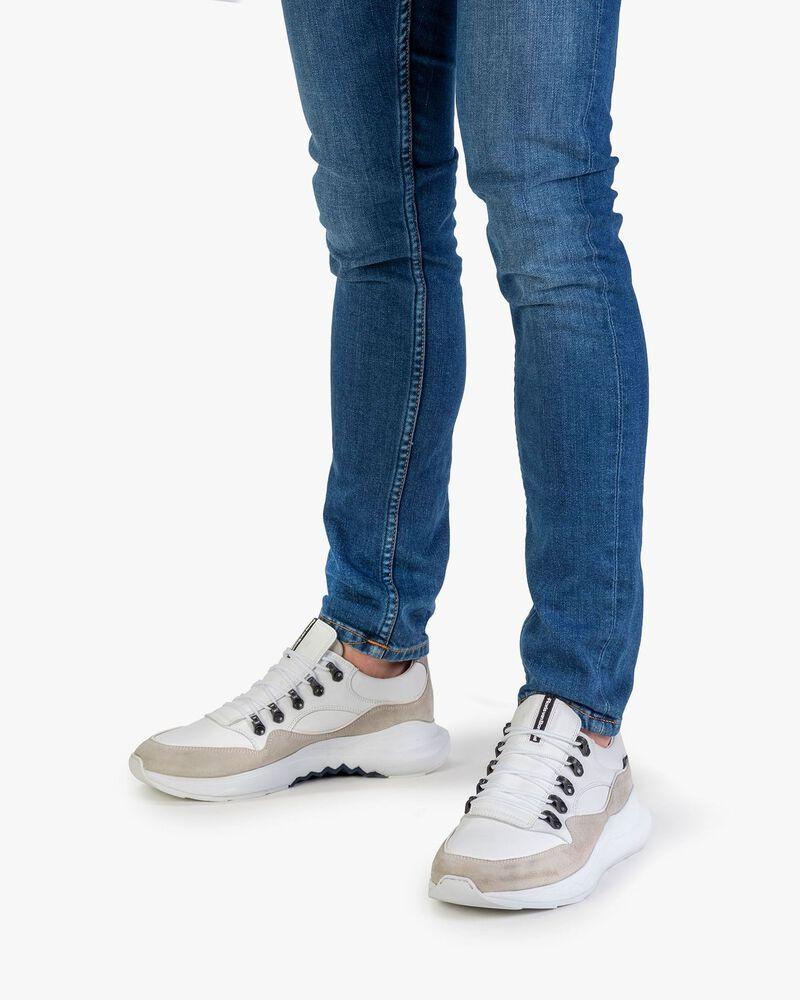 Bulki sneaker white leather