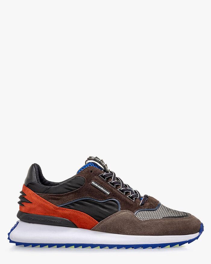 Sharki sneaker dark brown