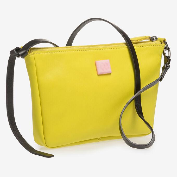 Gelbe Nappaleder-Tasche