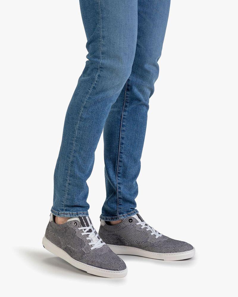 Sneaker Wildleder cremeweiß
