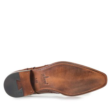 Brogue-Schnürschuh aus Leder