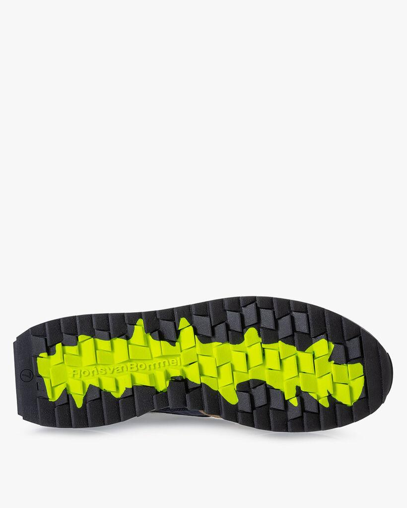 Sharki Sneaker Wildleder grau
