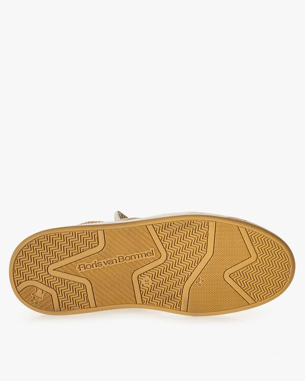Sneaker Wildleder beige
