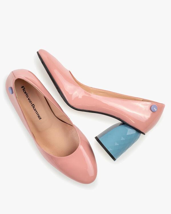Pumps Lackleder pink