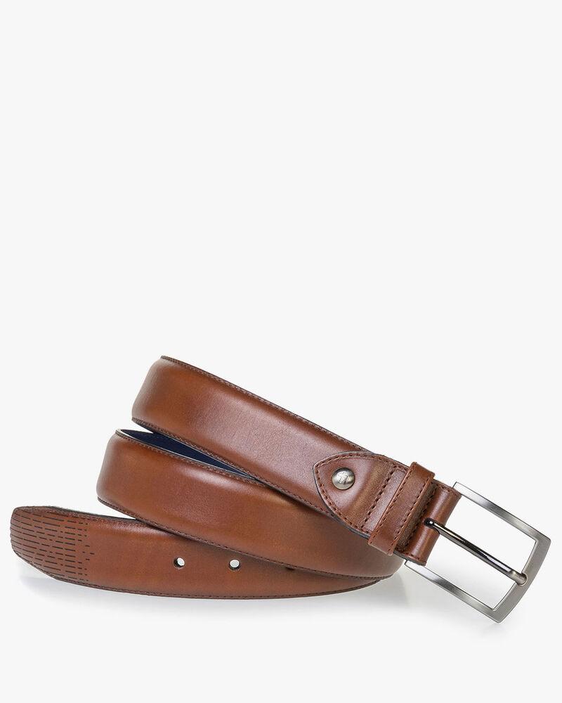 Leather belt with Laserprint