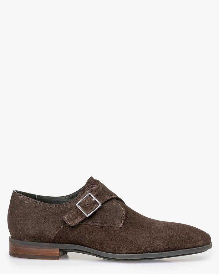 Brown monk strap