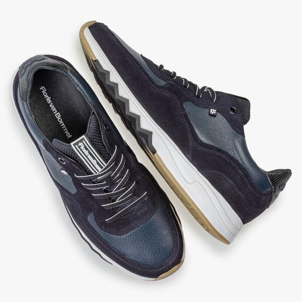 Nineti-Sneaker dunkelblau