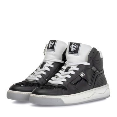 Sneaker calf leather