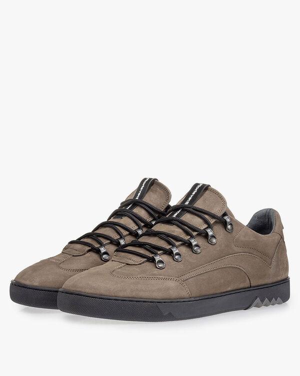 Sneaker Nubuk grau