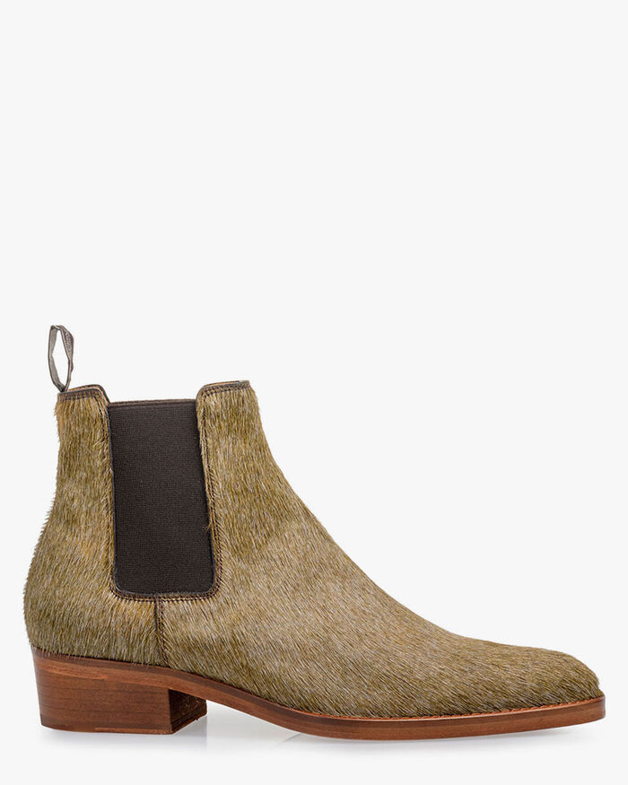 Chelsea boot pony taupe