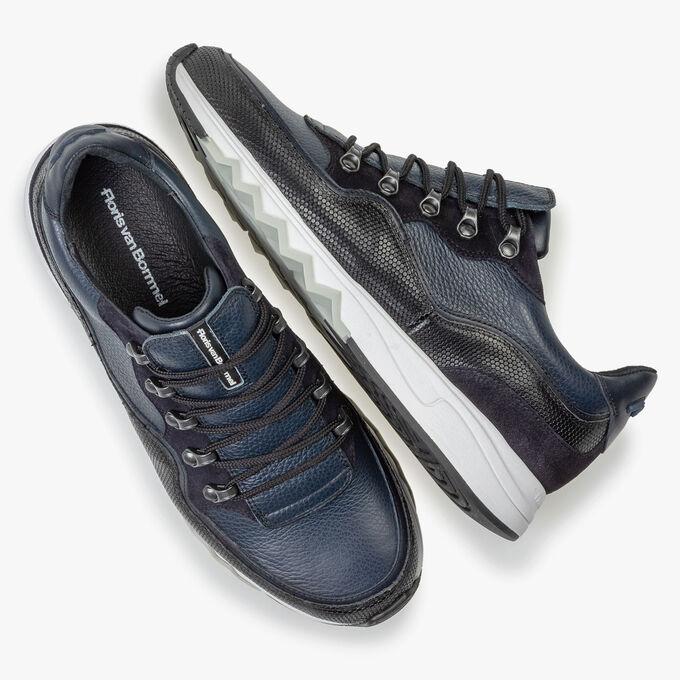 Sneaker leather blue