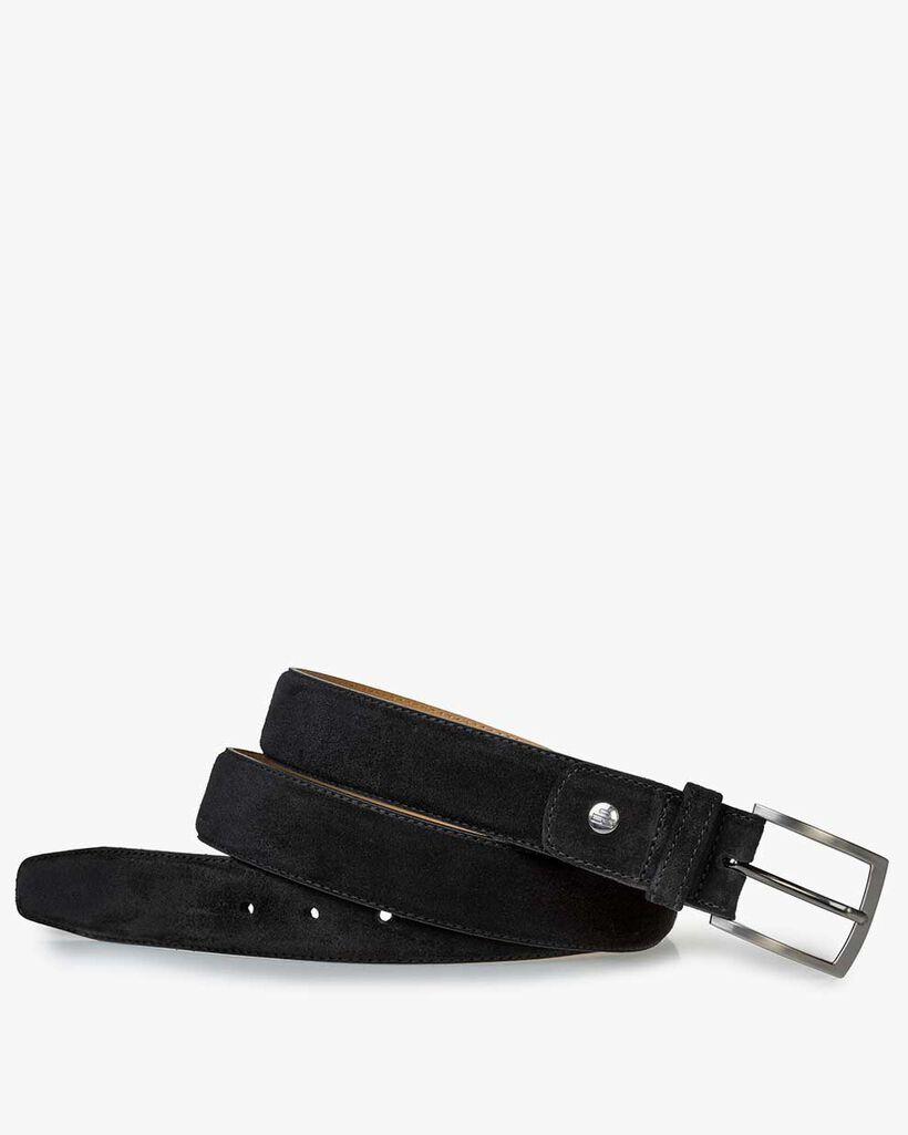 Belt suede black