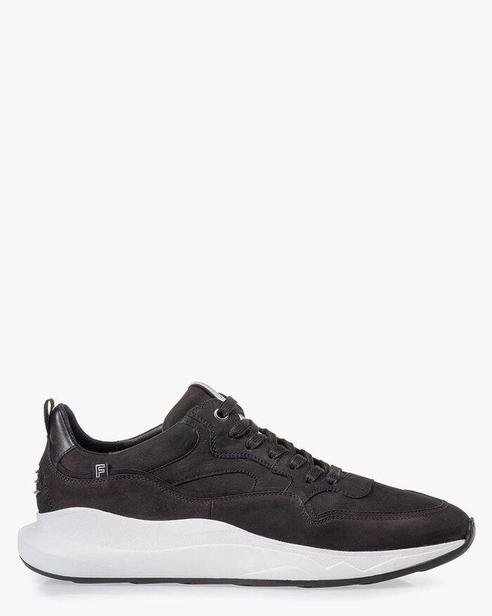 Bulki Sneaker schwarz Nubuk
