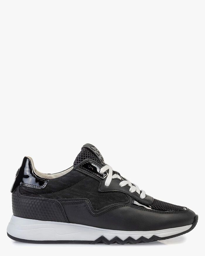 Nineti calf leather black
