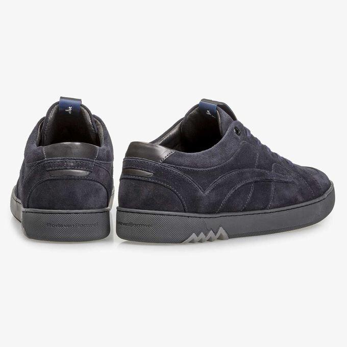 Dunkelblauer Wildleder-Sneaker