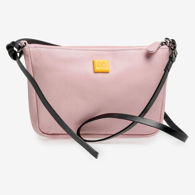 Hellrosa Nappaleder-Tasche