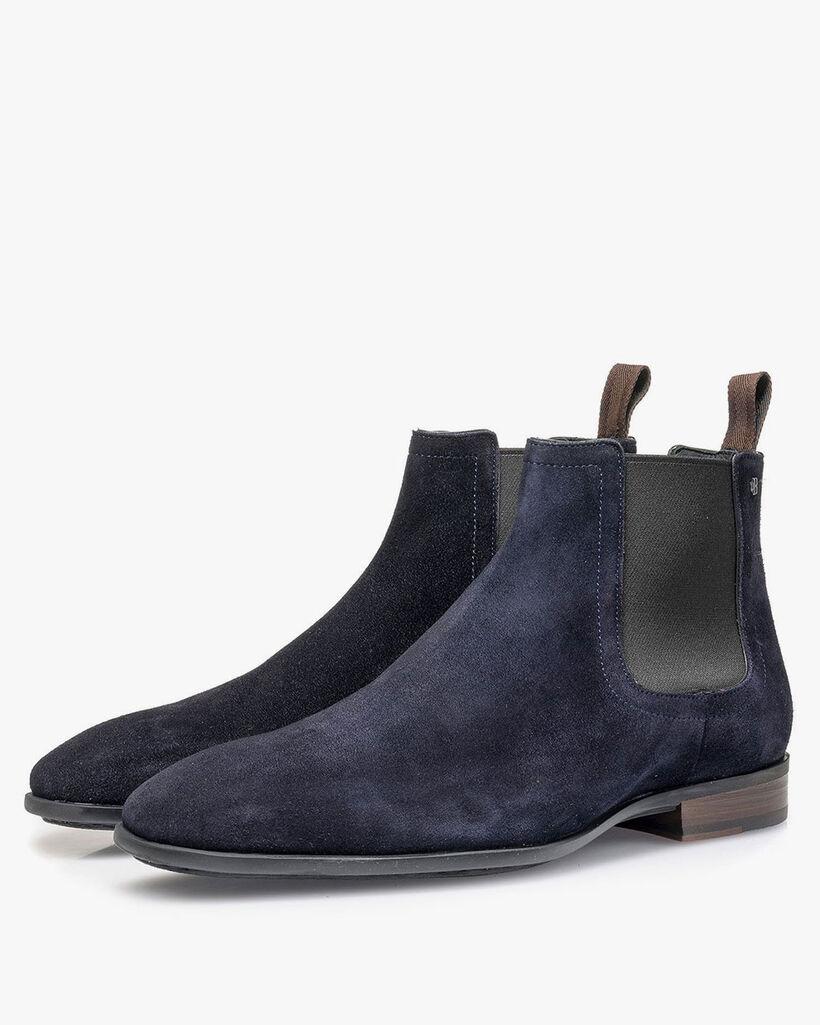 Chelsea Boot Wildleder blau