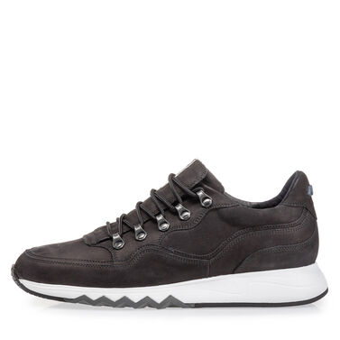 Leather sneaker with 'hiking