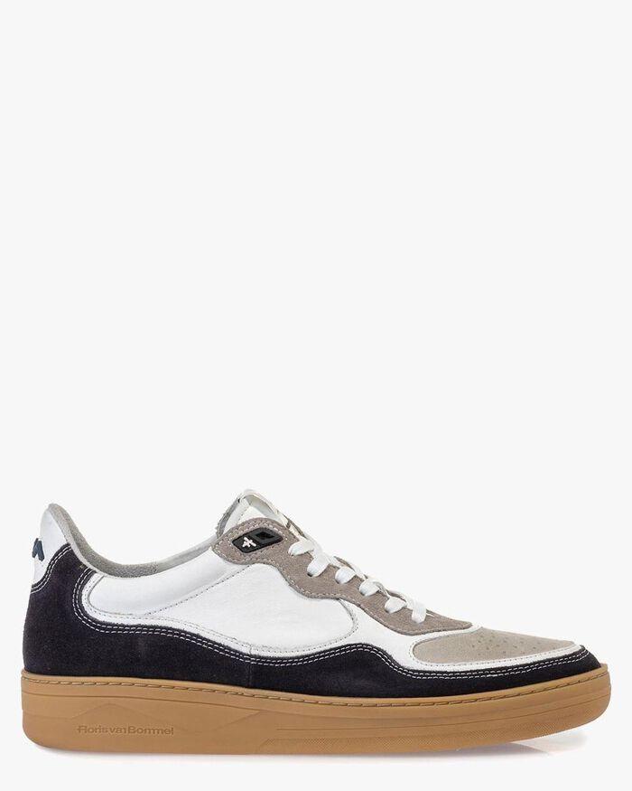 Sneaker Wildleder schwarz