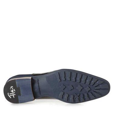 Leder-Schnürschuh mit Gummisohle