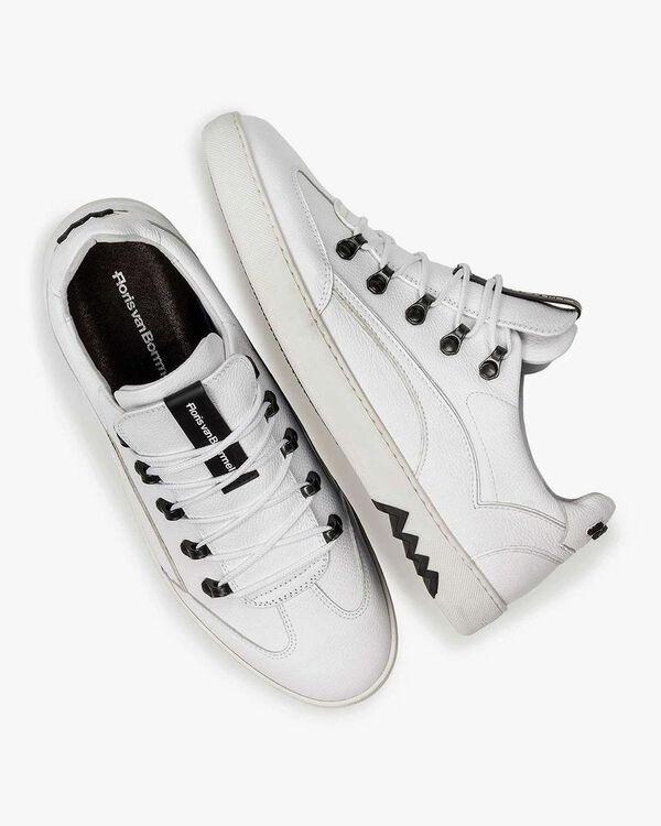 Weißer Leder-Sneaker