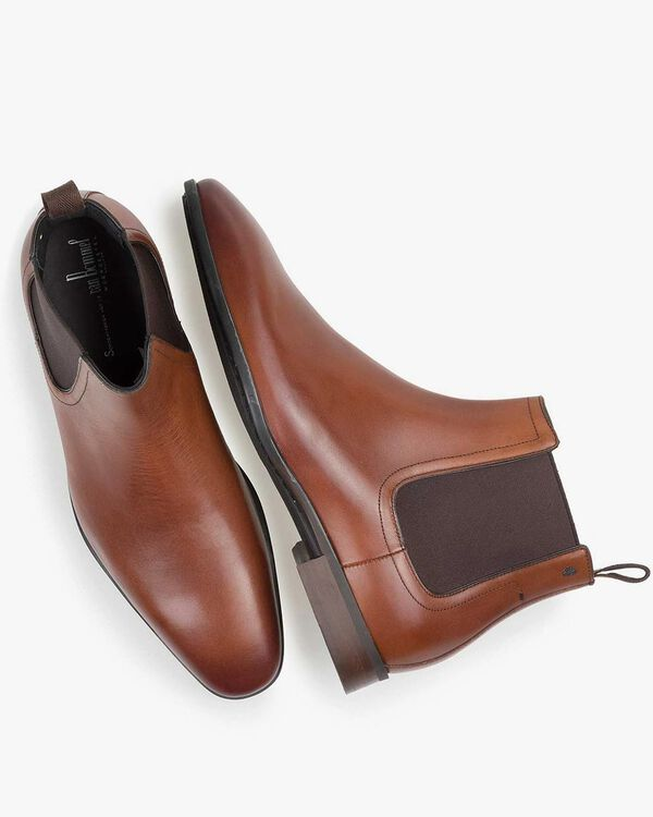 Chelsea boot calf leather cognac