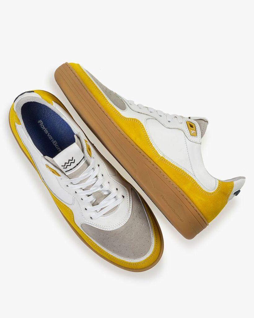 Sneaker Wildleder gelb