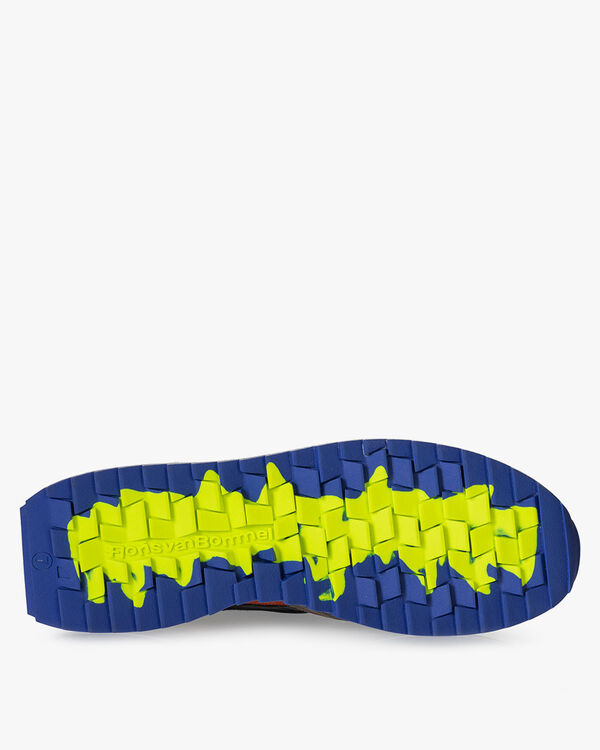 Sharki Sneaker dunkelbraun