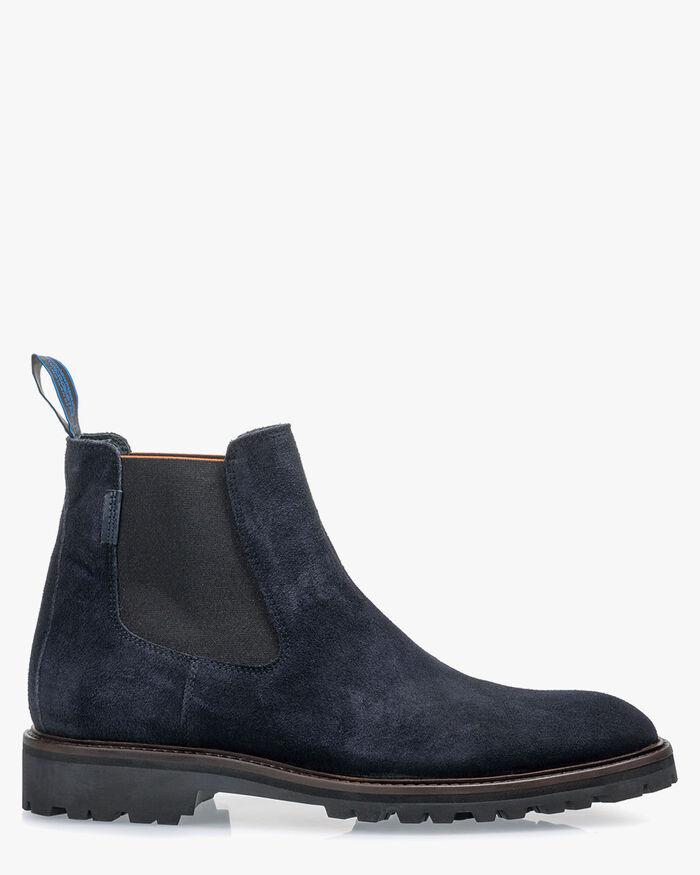 Chelsea boot suede black