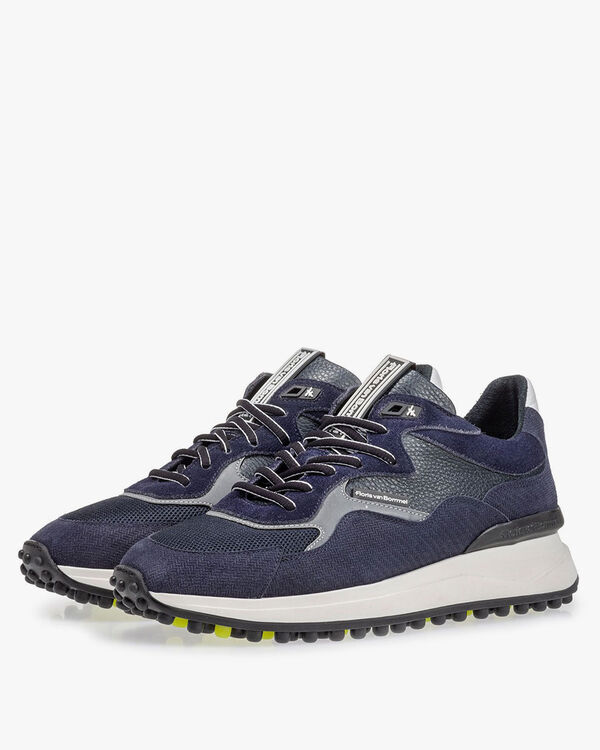 Noppi sneaker dark blue with print