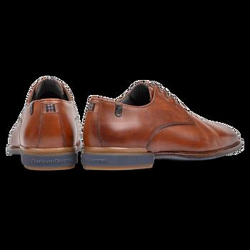 Lace shoe cognac calf leather