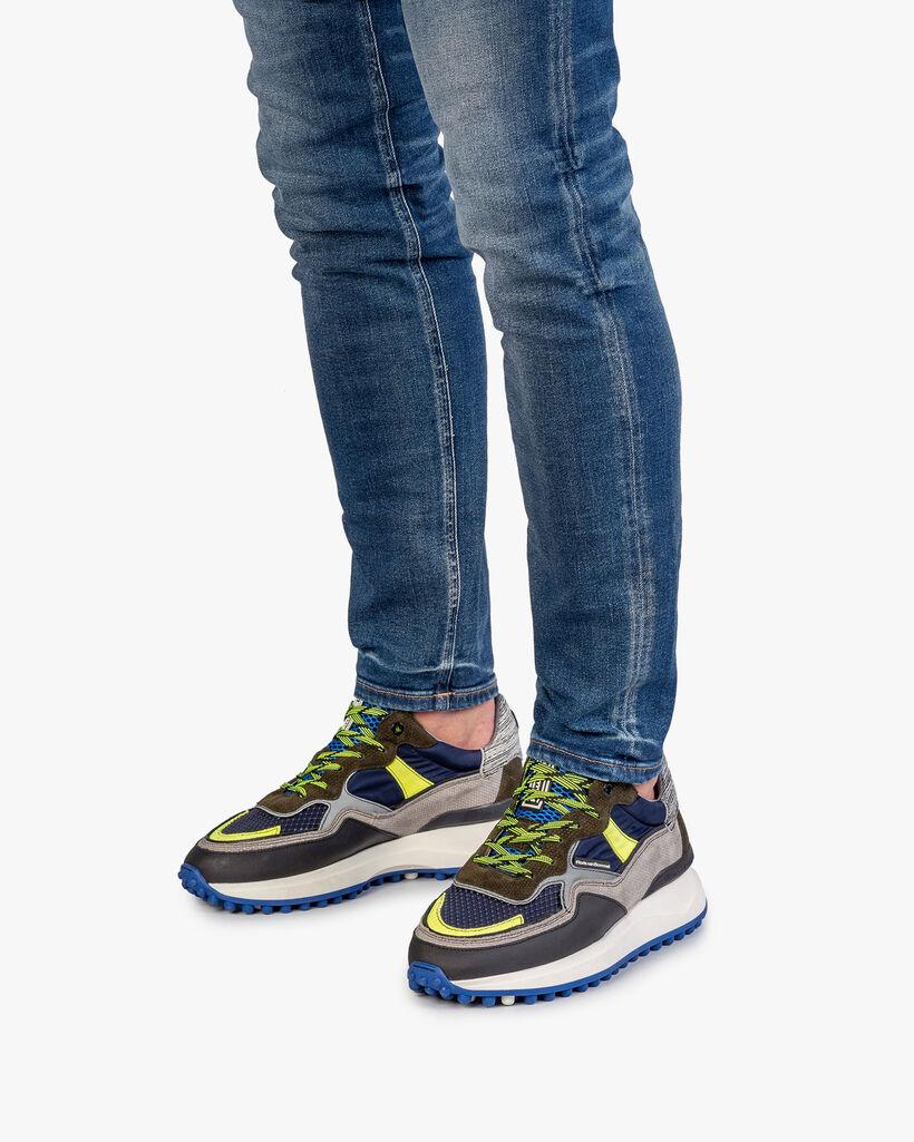 Noppi Sneaker dunkelblau