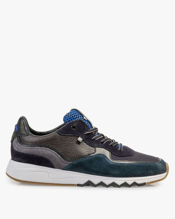 Nineti-Sneaker blau