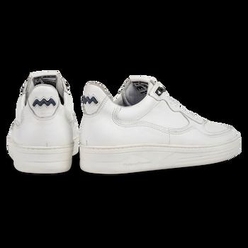 Sneaker weiß Leder