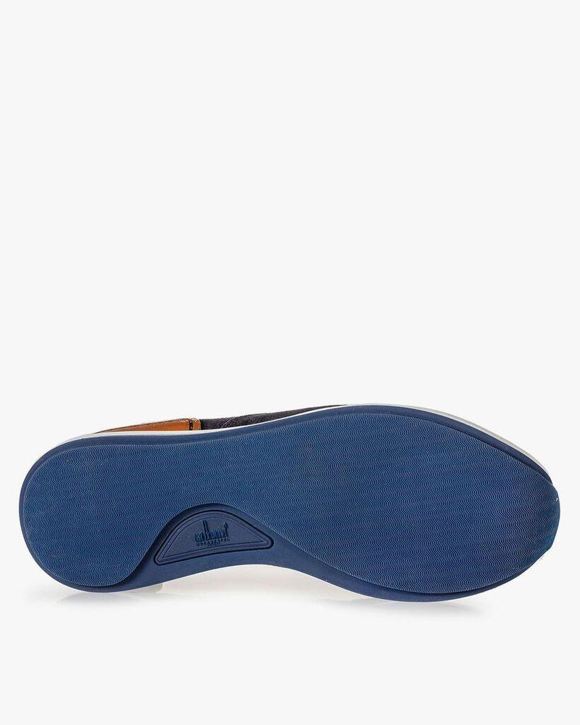 Sneaker dunkelblau Wildleder