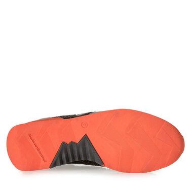Premium Suede leather coloured sneaker