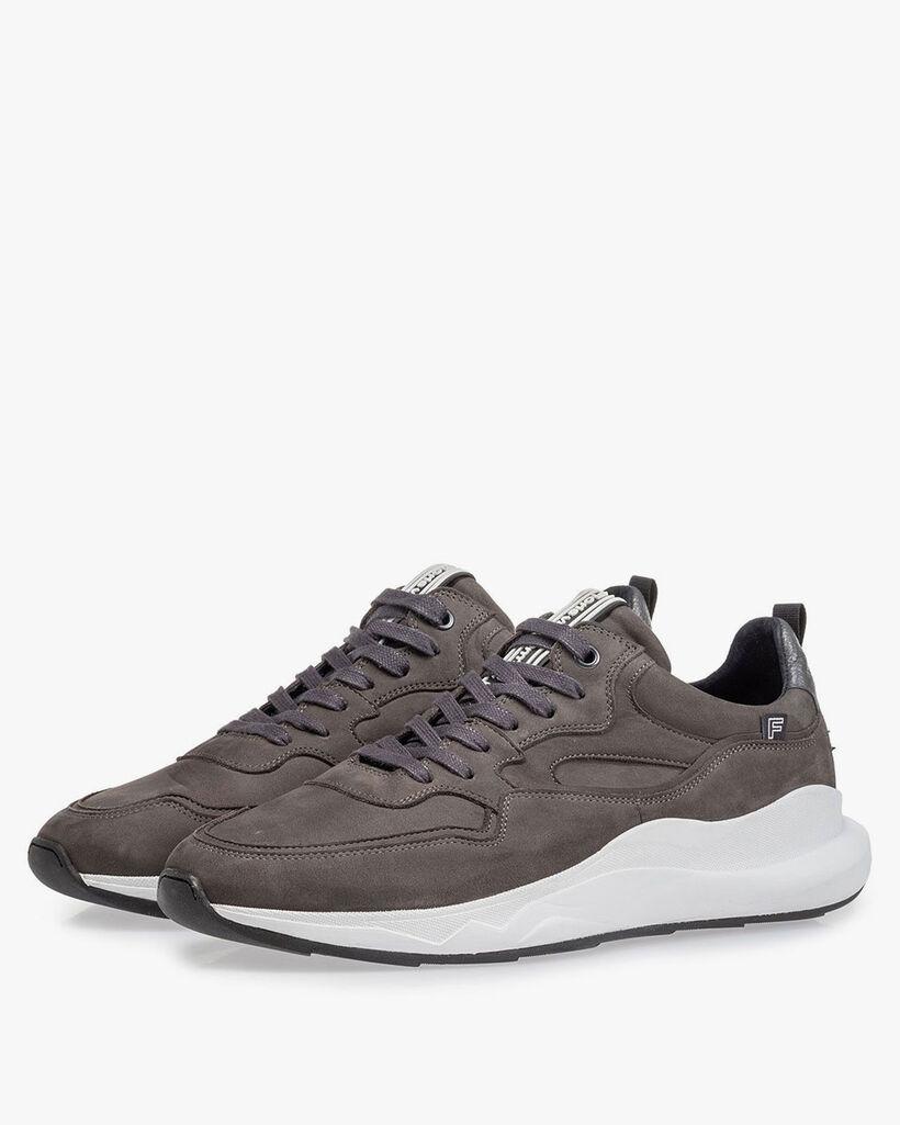 Bulki Sneaker grau Nubuk
