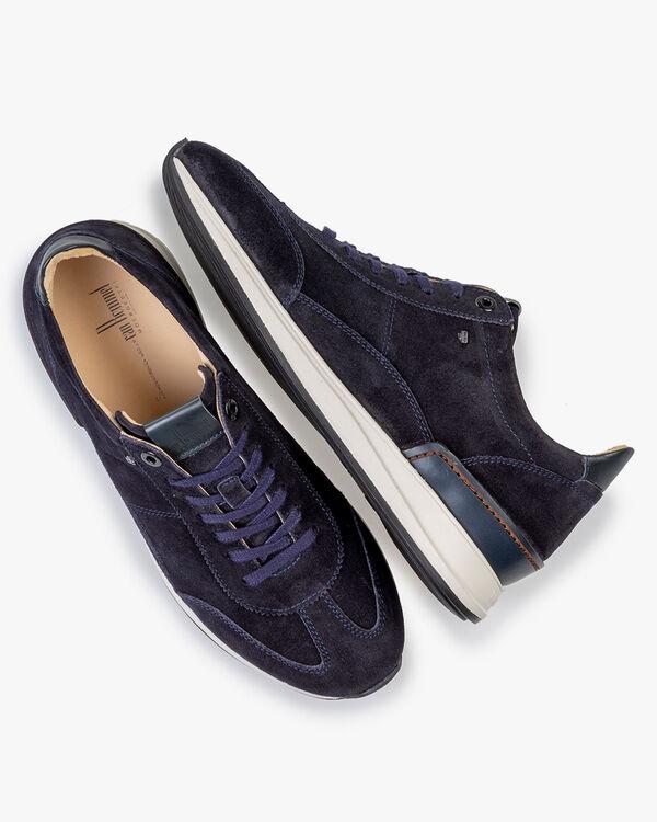 Sneaker Wildleder dunkelblau