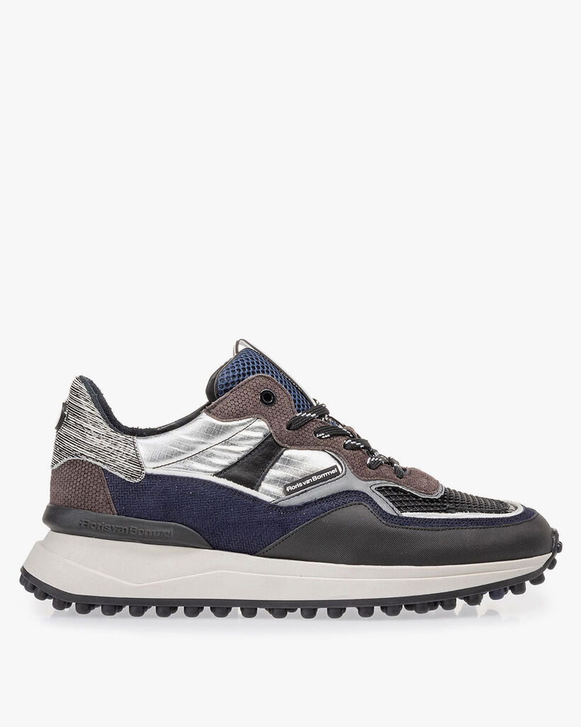 Noppi sneaker dark grey/blue