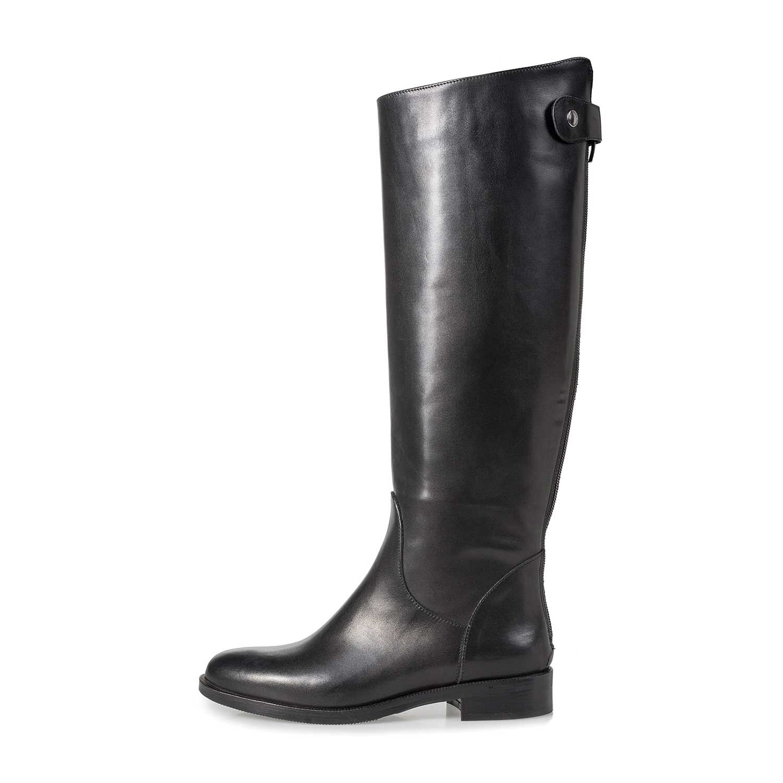 Cognacfarbener Damen Kalbsleder Stiefel 8571502 | Floris