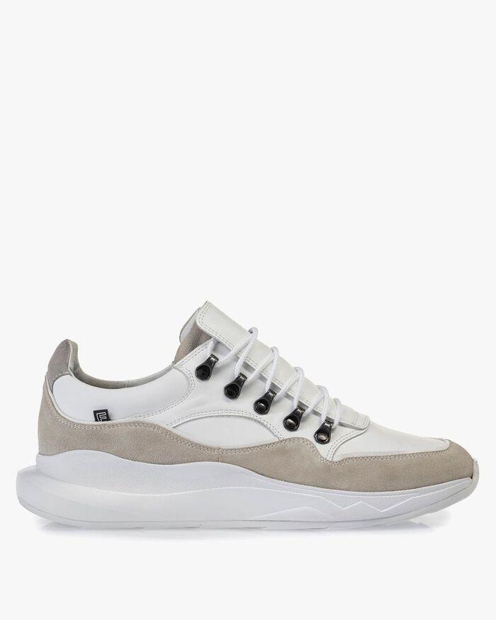 Bulki Sneaker weiß Leder