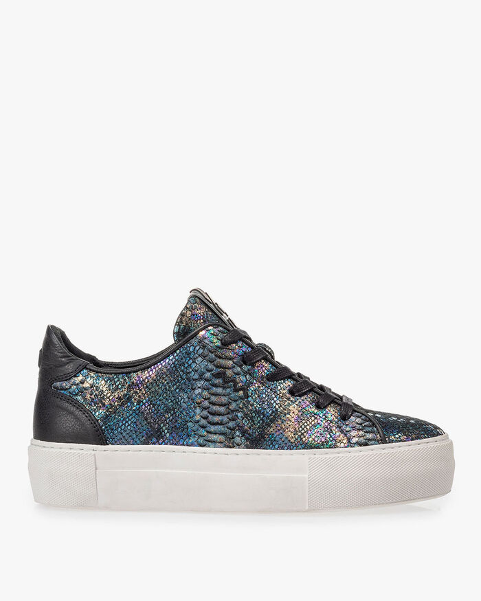 Sneaker Schlangenprint multi-color