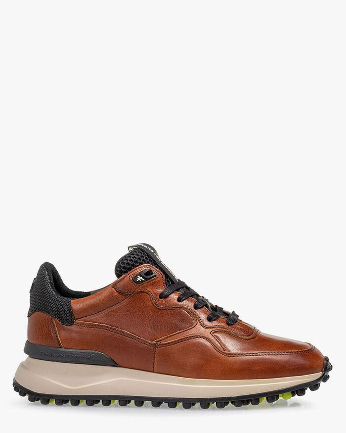 Noppi Sneaker Leder cognac