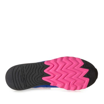 Nubuck leather women's sneaker