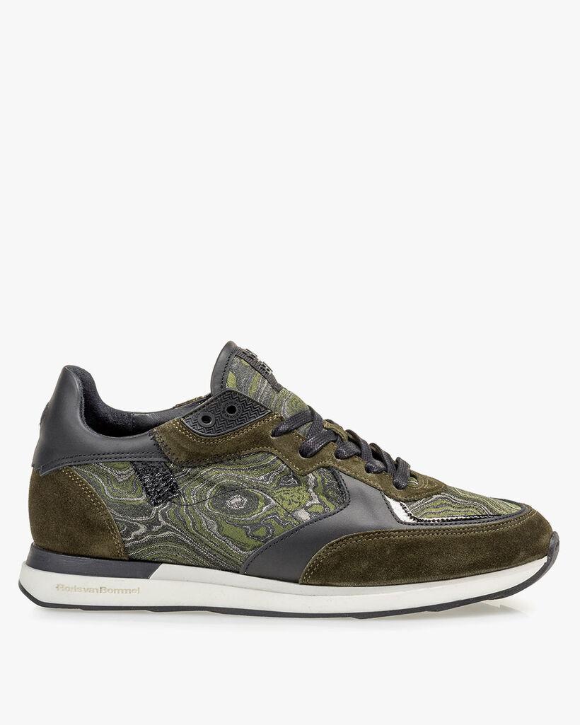Sneaker suede green