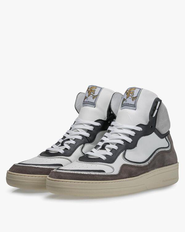Sneaker Kalbsleder schwarz