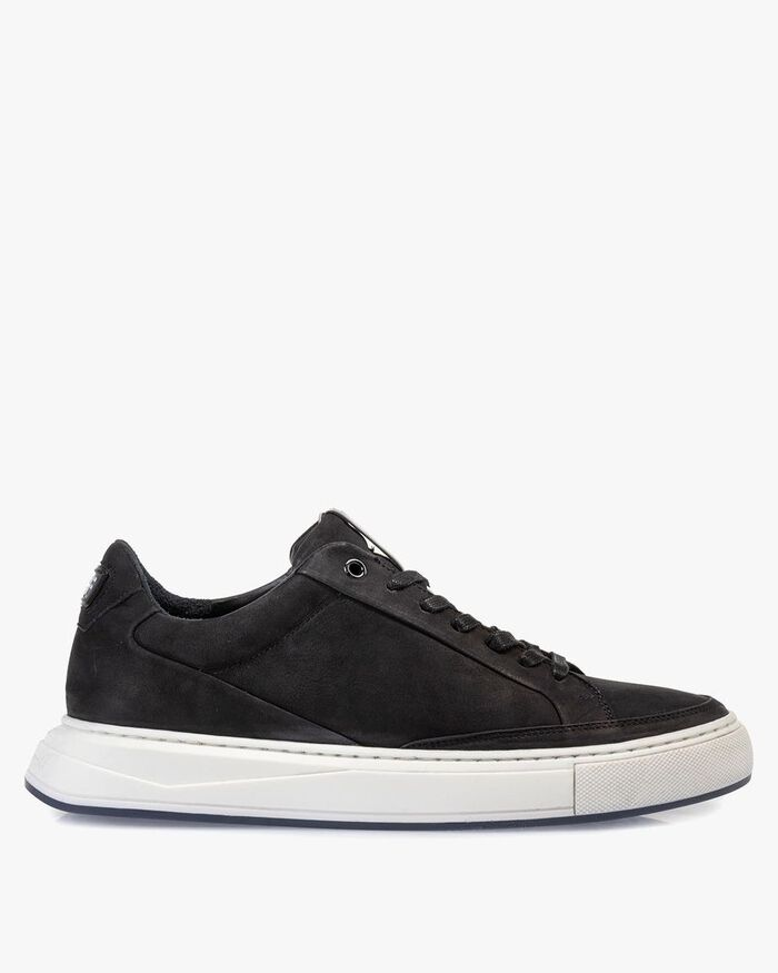 Sneaker nubuck leather black