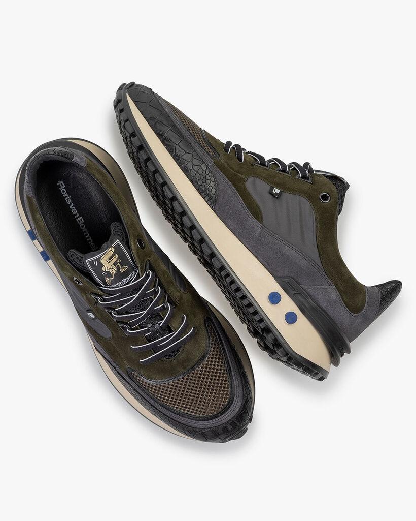 Vinti Sneaker dunkelgrün