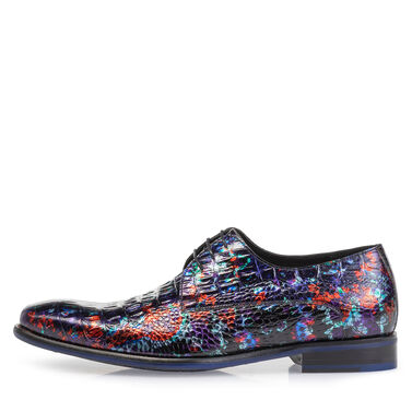 Premium lace shoe with print