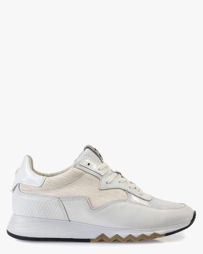 Nineti calf leather white